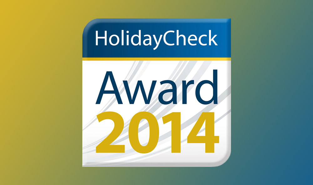Holiday Check Award 2014